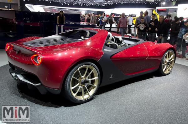 Pininfarina Sergio | Salon automobile genève 2013_4