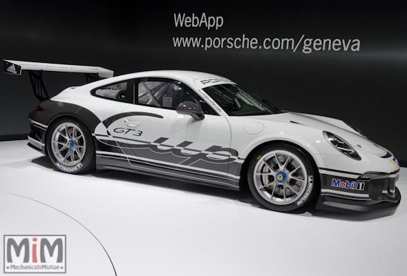Porsche 911 GT3 Cup type 991 | Salon automobile genève 2013