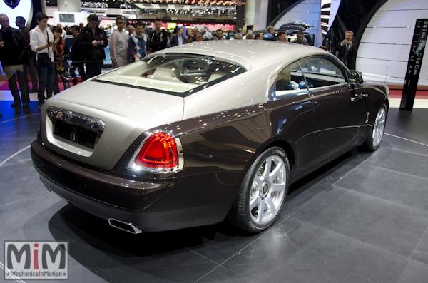 Rolls Royce Wraith | Salon automobile genève 2013