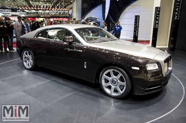 Rolls Royce Wraith | Salon automobile genève 2013_2