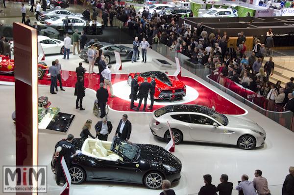 Stand Ferrari | Salon de Genève 2013