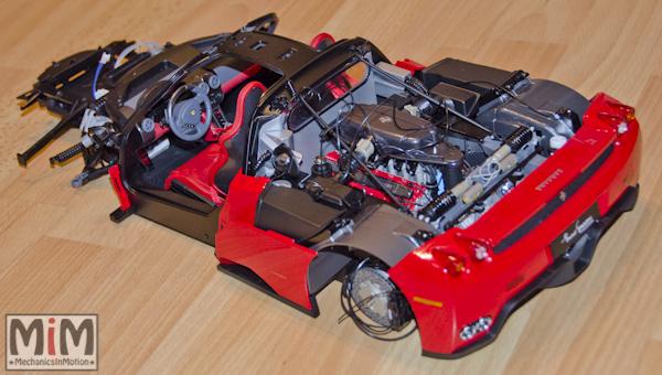 Montage Ferrari Enzo 1:10 Altaya - étape 7