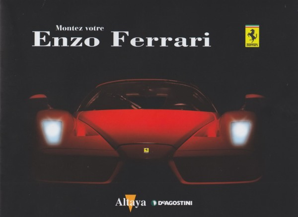 Altaya Ferrari Enzo au 1/10è – le montage