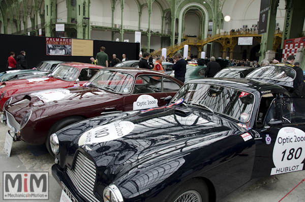 Tour Auto Optic 2000 - 2013 Grand Palais - Aston Martin DB2:4 1954
