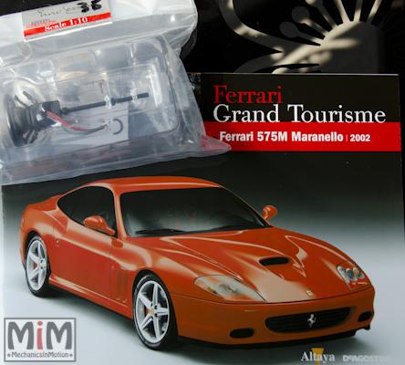 35-Altaya Ferrari Enzo 1:10 - Ferrari 575M Maranello