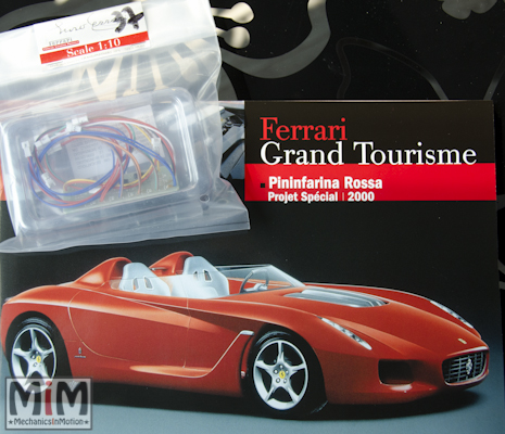 37-Altaya Ferrari Enzo 1:10 - Pininfarina Rossa