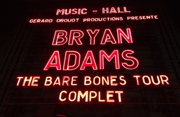 Bryan Adams Paris Olympia 2013