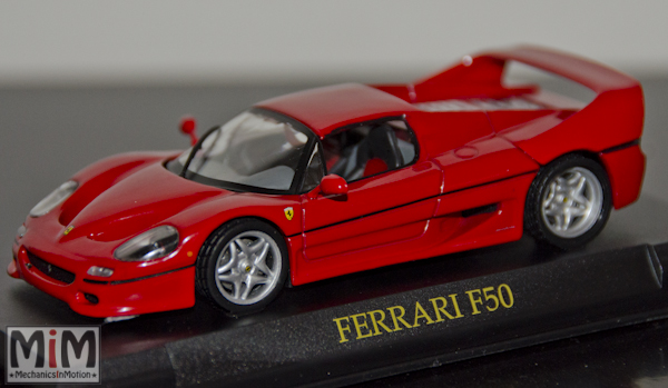 Hachette GT Collection Ferrari F50_