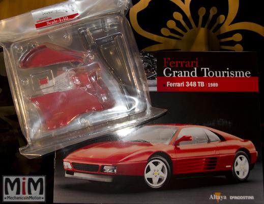 44-Altaya Ferrari Enzo 1:10 - Ferrari 348 TB de 1989