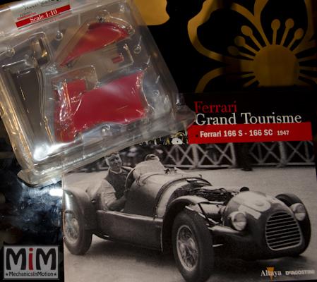 45-Altaya Ferrari Enzo 1:10 - Ferrari 166 S de 1947