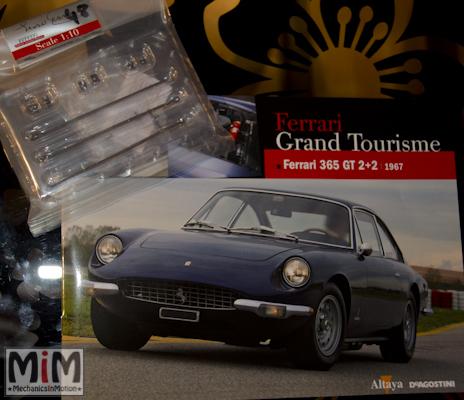 48-Altaya Ferrari Enzo 1:10 - Ferrari 365 GT 2+2 de 1967