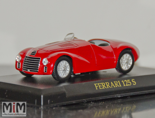 Hachette GT Collection Ferrari 125S