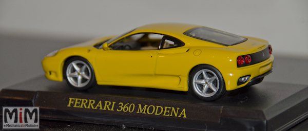 Hachette GT Collection Ferrari 360 Modena grille challenge