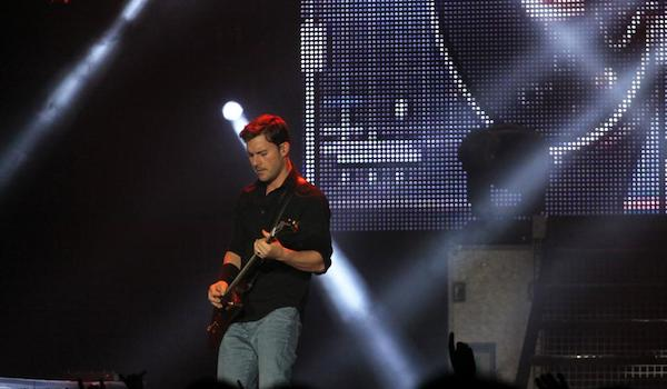 Nickelback Concert paris Bercy 2013