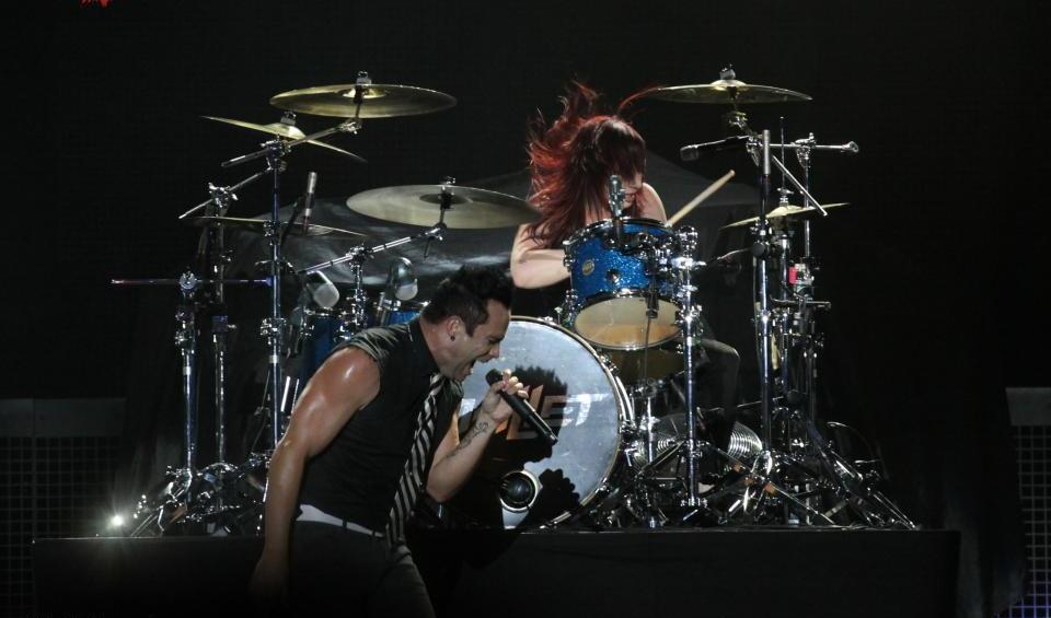 skillet concert paris bercy 2013