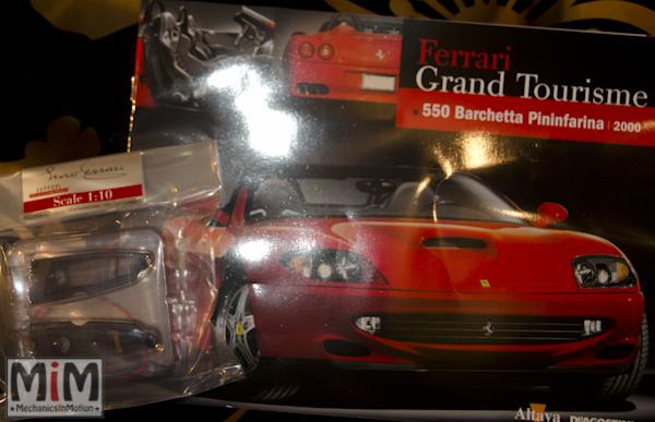 51-Altaya Ferrari Enzo 1:10 - Ferrari 550 Barchetta de 2000