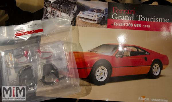 52-Altaya Ferrari Enzo 1:10 - Ferrari 308 GTB de 1975