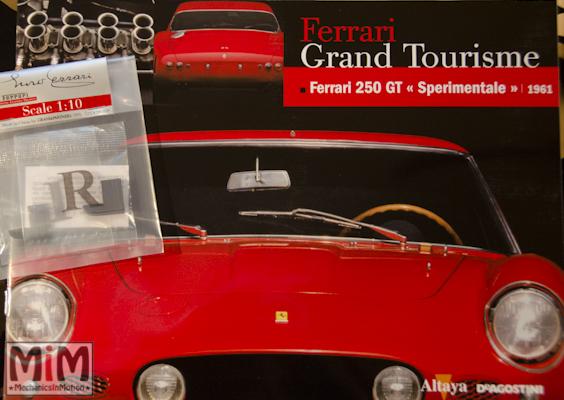 59-Altaya Ferrari Enzo 1:10 - Ferrari 250 GT sperimentale de 1961