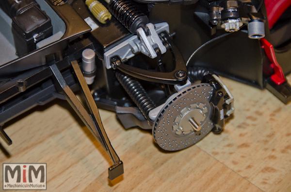 Montage Ferrari Enzo 1:10 Altaya - étape 8