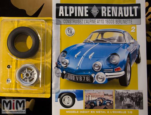 Alpine Renault A110 1600S berlinette - Fascicule 2