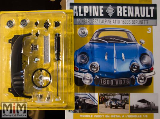 Alpine Renault A110 1600S berlinette - Fascicule 3