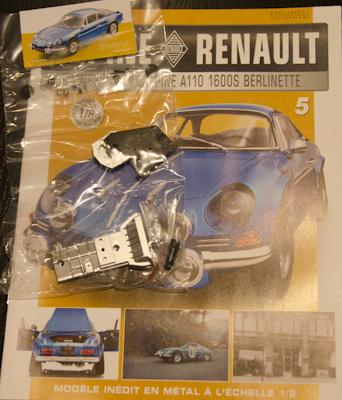 Alpine Renault A110 1600S berlinette - Fascicule 5