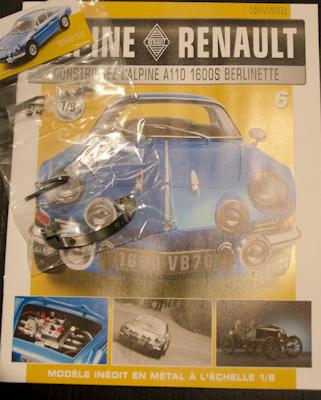 Alpine Renault A110 1600S berlinette - Fascicule 6