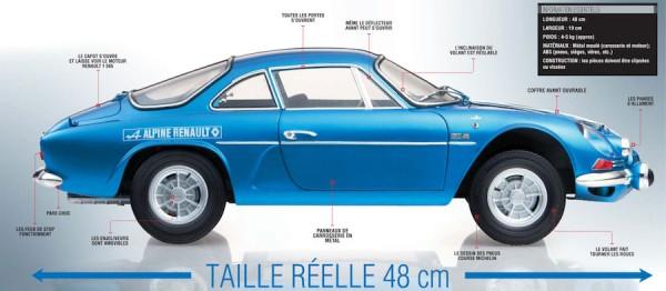 Alpine Renault A110 1600S berlinette au 1/8è