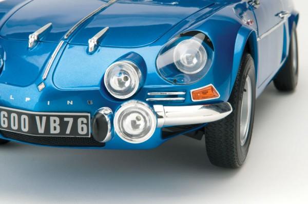 Alpine Renault A110 1600S berlinette au 1/8è – le montage