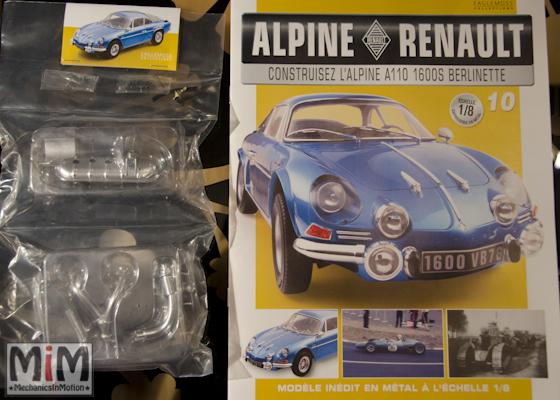 Alpine Renault A110 1600S berlinette - Fascicule 10
