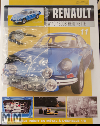 Alpine Renault A110 1600S berlinette - Fascicule 11