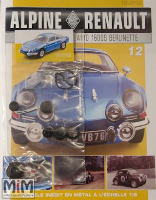 Alpine Renault A110 1600S berlinette - Fascicule 12