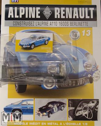 Alpine Renault A110 1600S berlinette - Fascicule 13
