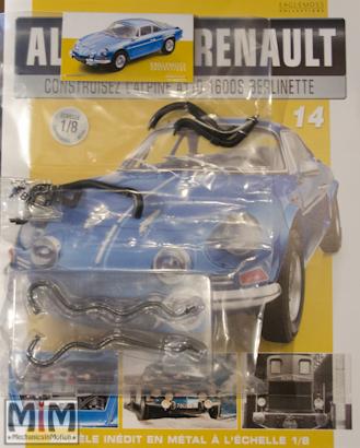 Alpine Renault A110 1600S berlinette - Fascicule 14