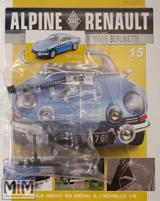 Alpine Renault A110 1600S berlinette - Fascicule 15