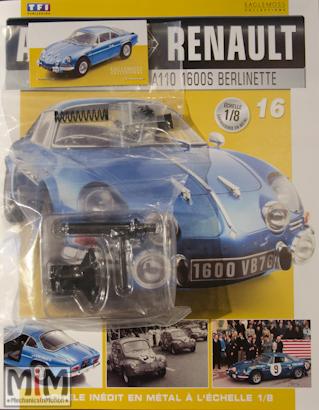 Alpine Renault A110 1600S berlinette - Fascicule 16