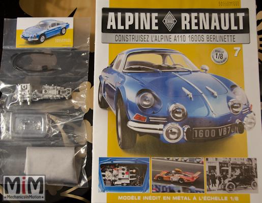 Alpine Renault A110 1600S berlinette - Fascicule 7