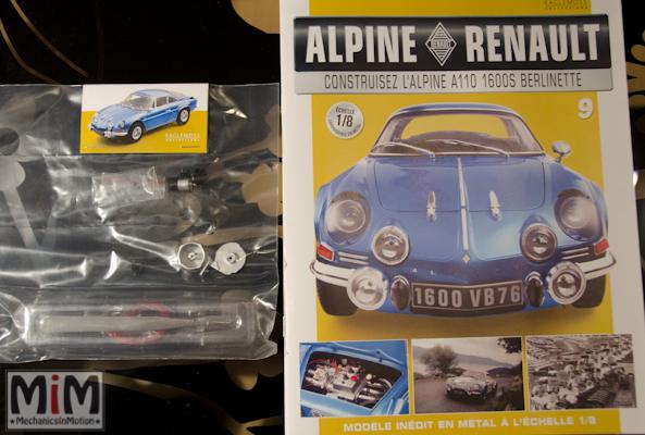 Alpine Renault A110 1600S berlinette - Fascicule 9