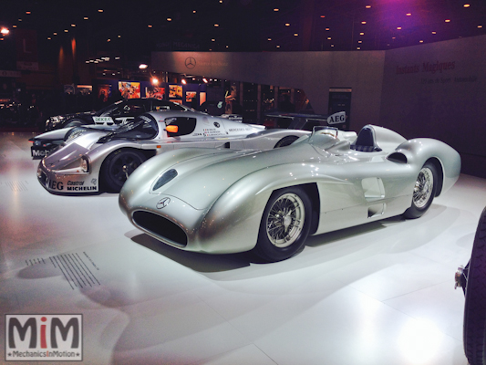 Salon Retromobile 2014 - Mercedes