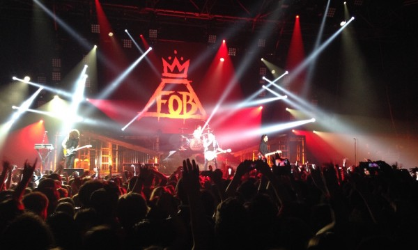Fall Out Boy + The Pretty Reckless Paris Zenith 2014