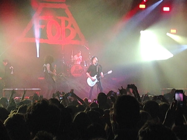 Fall Out Boy Zenith 2014_