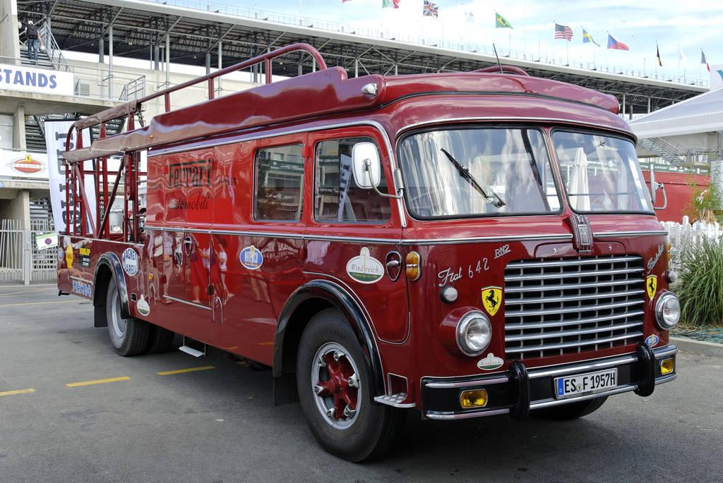 Fiat 642 RN2 Bartoletti Ferrari Transporter (1957-60)-4