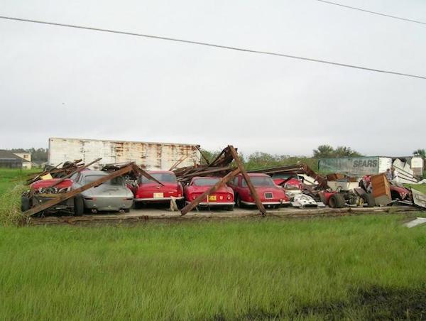 Walter Medlin Ferrari Collection destroyed