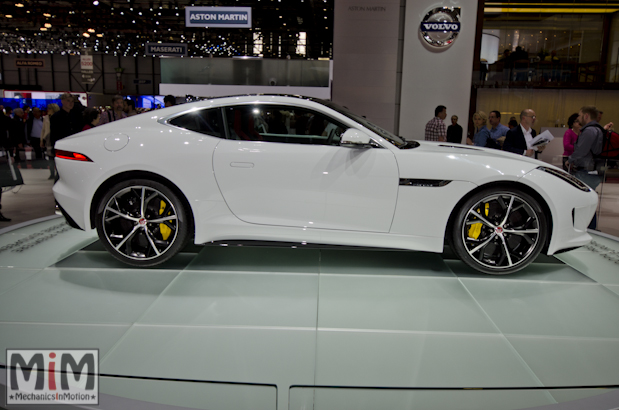 Jaguar F-Type R Coupé - Geneva 2014-2