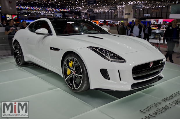 Jaguar F-Type R Coupé - Geneva 2014-3