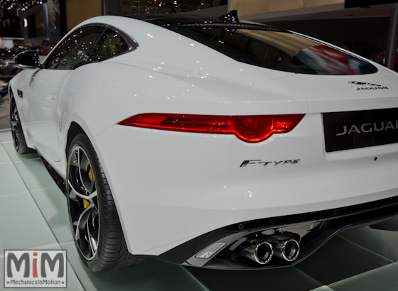 Jaguar F-Type R Coupé - Geneva 2014-5