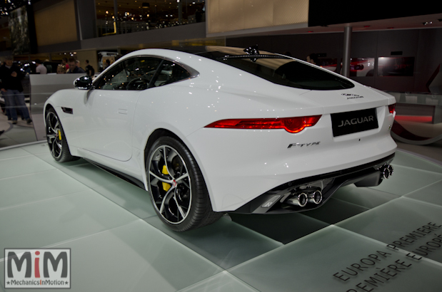 Jaguar F-Type R Coupé - Geneva 2014