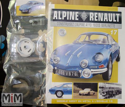 Alpine Renault A110 1600S berlinette - Fascicule 17