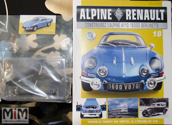 Alpine Renault A110 1600S berlinette - Fascicule 18