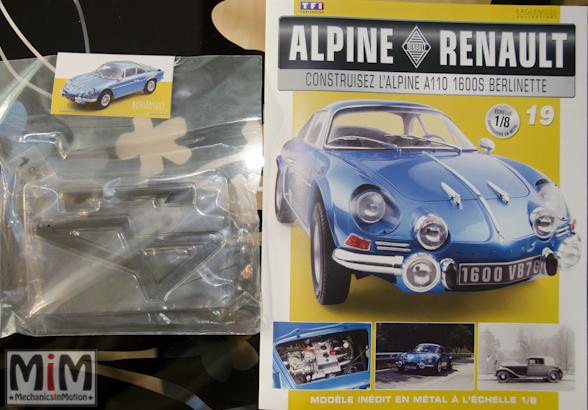 Alpine Renault A110 1600S berlinette - Fascicule 19